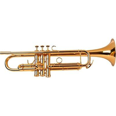 Adams A5 Selected Series Professional Bb Trumpet Gold Lacquer 190839623997 OB