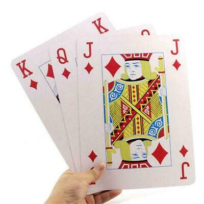 Easy View Playing Cards Traditional Deck Large Display Poker Game 17.5 x 12.5cm
