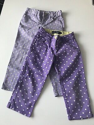 Mini Boden/ Gaps Girls Spotted Trousers Size 6yrs