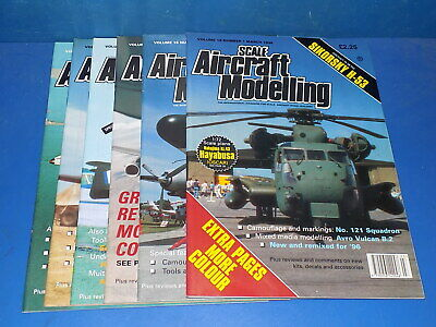 Scale Aircraft Modelling Magazine 1992 - 2019 - Select From Back Issues