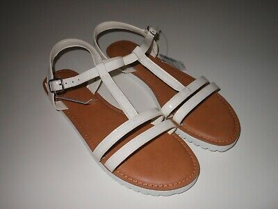 NEXT - Girls White Sandals New with Tags - Size 6