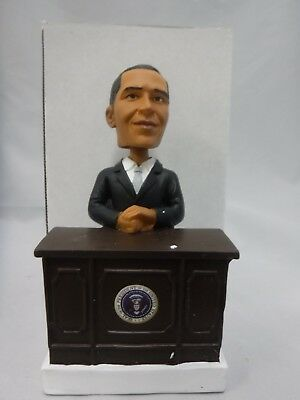 Barack Obama At His Desk Bobble Head New In The Box