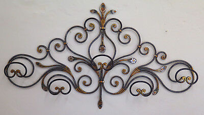 Coat Hangers Wrought Iron Made by hand a Tail Peacock Genovese Ch