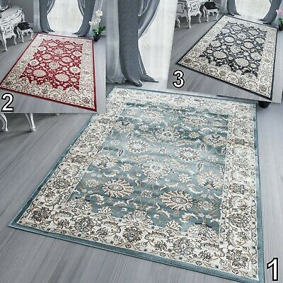 Grey Large Traditional Area Rug