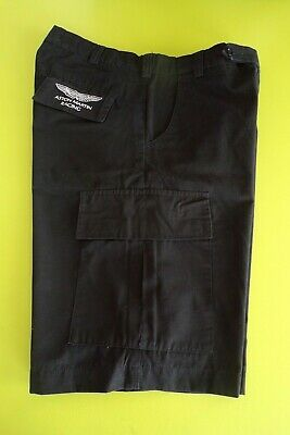 Aston Martin Racing Team Issue Shorts Mens Black - Last Few In Stock