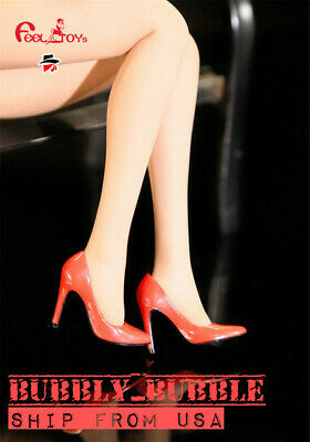 """PHICEN 1//12 scale High Heels Shoes For 6/"""" TBLeague T01 Female Figure Doll USA"""