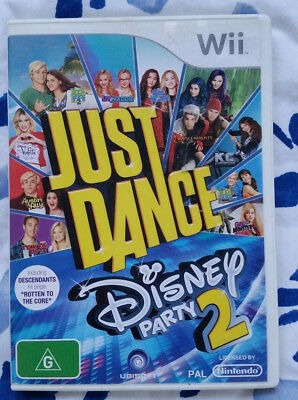 Just Dance Disney Party 2 Nintendo Wii AUS Replacement Case & Manual - NO GAME