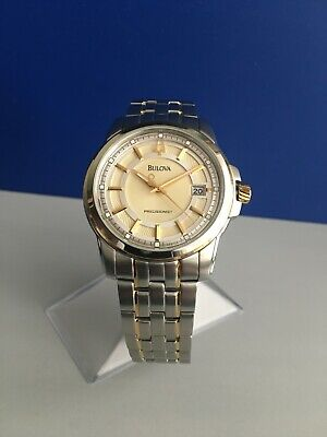 Bulova 98B156 Langford Precisionist  Date Tow-tone Stainless Steel Watch
