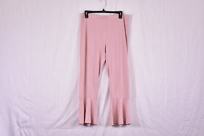 Women's BB Dakota Aden Bell Bottom Pants, Dusty Rose Pink, M
