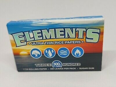 """Elements Ultra Thin Rice Papers - Three Hundred - 300s - 1 1/4"""""""