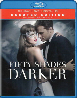 Fifty Shades Darker (Blu-ray + DVD + Digital C New Blu