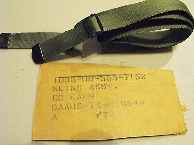 M1 Carbine  M3, M3a1 Nylon Sling Original Issue New