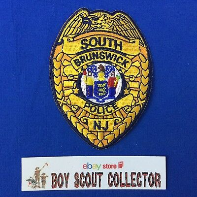 New Jersey, Patches, Police, Historical Memorabilia