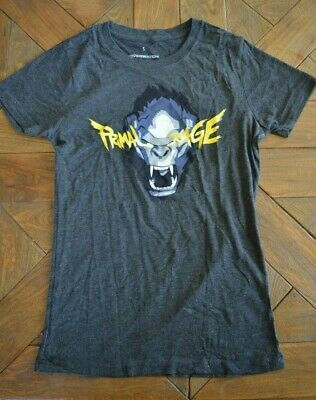 NEW Women's Loot Crate Wear Primal Rage Winston OverWatch T-SHIRT PICK YOUR SIZE