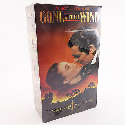 Gone With the Wind 2 Tapes (VHS, 1998, Digitally Re-Mastered) FACTORY SEALED