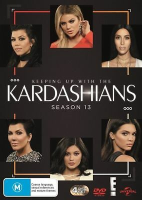 Keeping Up With The Kardashians : Season 13 (DVD, 4-Disc Set) NEW