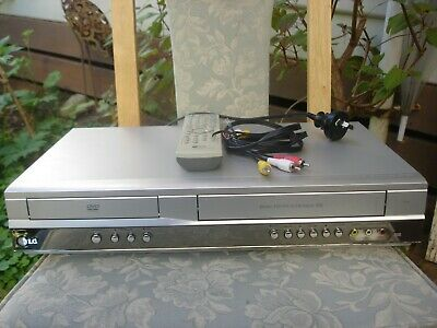 LG V181 DVD player/VCR combo with remote