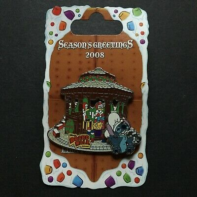 WDW Stitch Boardwalk Resort Gingerbread House Daisy Don RARE LE Disney Pin 66309