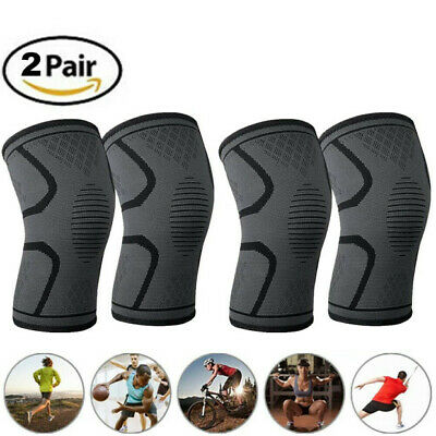 Knee Brace Support Compression Sleeves For Sport / Joint Pain /Arthritis Relief