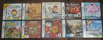Nintendo DS game cases only - no games