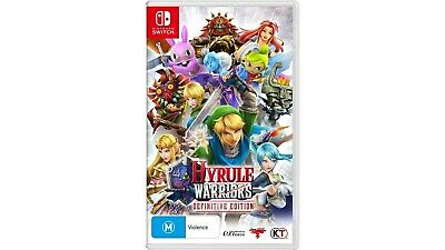 Hyrule Warriors Definitive Edition (Nintendo Switch / Switch Lite) NEW & SEALED