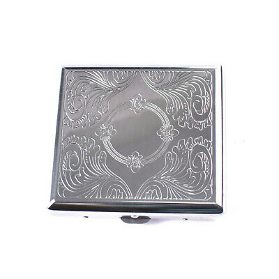 Cigarette Case Metal Box Holder Big Case Tobacco 20 Cigarettes H3G4N