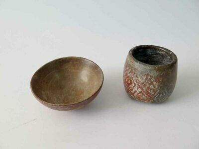2 Pc Collection of Pre - Columbian COLIMA Bowl