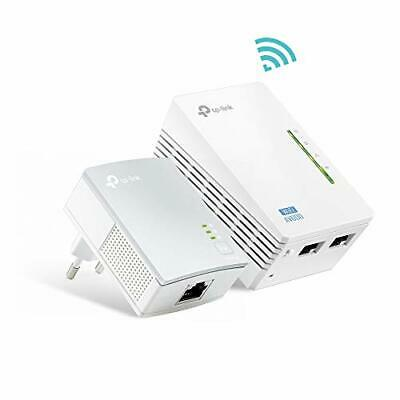 Tp link tl wpa4220 kit powerline wifi av600 mbps su 300 (m+6)
