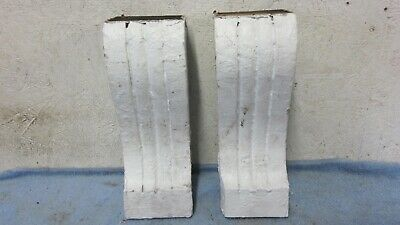 Antique Wood Victorian House Brackets Architectural Salvaged Shelf Corbels