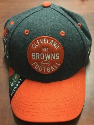Cleveland Browns New Era 2019 Home Sideline 1930s Hat NFL Youth One Size Fit