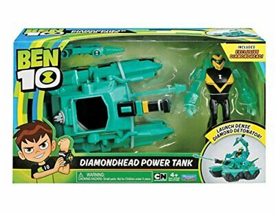 Ben 10ultimate alien veicolo diamond head power tank (BOv)