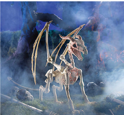 Halloween Decorations Original Dragon Life-Size Skeleton Halloween Outdoor Decor