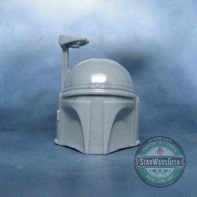 "ML351 Mandalorian Boba Fett Jango hollow helmet Custom Cast use w/ 6"" Star Wars"