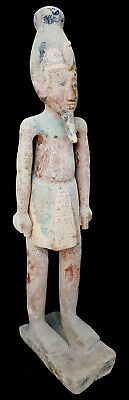 Massive Osiris God Statue Egyptian Antiques Civilisation W/T Hieroghliphics RARE