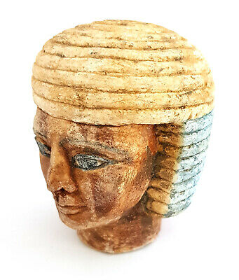 Fabulous Egyptian Queen Bust Rare Ancient Carved Stone Antique Sculpture UNIQUE