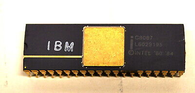 Rare IBM C8087 CoProcessor Chip 8548 Prod Date (Ships WorldWide)