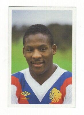 Rugby Game Card. Ellery Hanley
