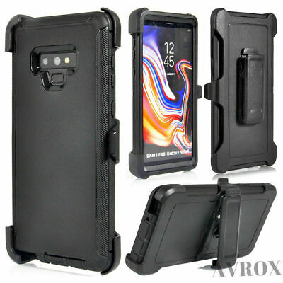 For Samsung Galaxy Note 9 Defender Case Shockproof Cover Fits OtterBox Belt Clip