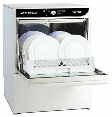 Jet-Tech 737-E Undercounter Dishwasher High-Temp Compact Commercial