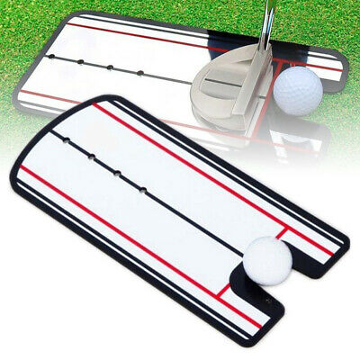 Accessories Golf Putting Mirror Tool Acrylic Outdoor Eyeline Alignment