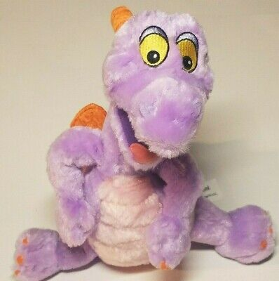 Disneyland WALT DISNEY WORLD Figment Plush Stuffed Animal Purple Dragon 11""