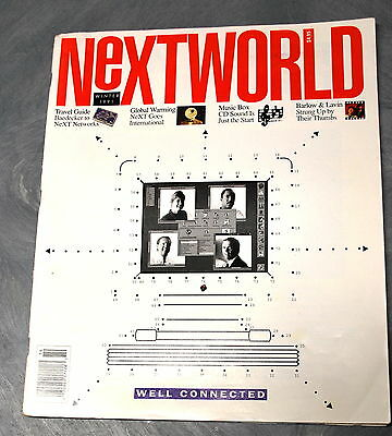 Rare Nextworld Winter 1991 Issue Well Connected Cover Ships Worldwide