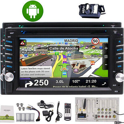 "6.2"" Android 9.0 2Din Car Stereo Radio MP5 Player GPS Navigation Bluetooth Wifi"