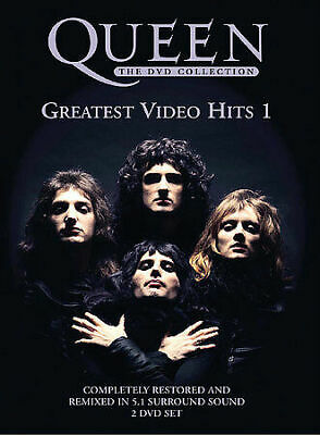 QUEEN Greatest Video Hits 1 (2 DVD & Booklet) ***