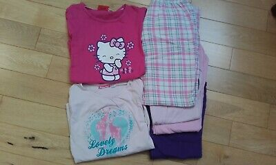 Girls Pyjama Bundle. Age 8 -10