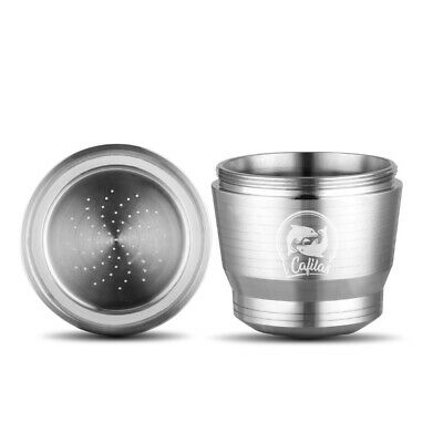 Refillable Stainless Steel Metal Coffee Capsule Cup Reusable Pod For Nespresso