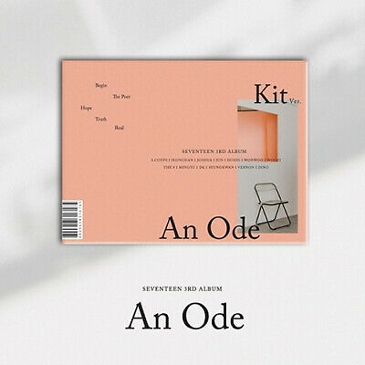 SEVENTEEN [AN ODE] 3rd Kihno Album Air Kit+3p Post Card+27p Card K-POP SEALED