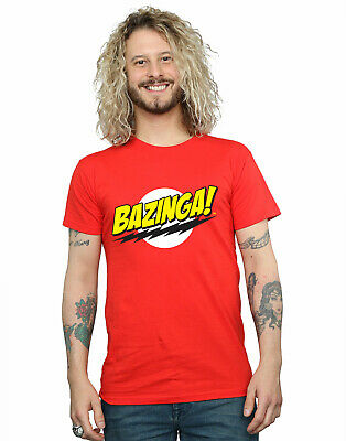 The Big Bang Theory Men's Sheldon Bazinga T-Shirt