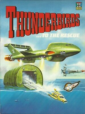 Thunderbirds Comic Albums #1-6