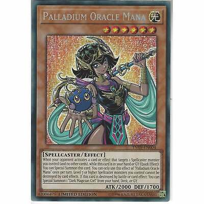 TN19-EN004 Palladium Oracle Mana | Limited Edition YuGiOh Prismatic Secret Rare